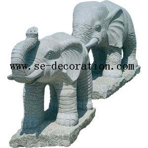 Product name:g603 grey granite elephant animal sculpture