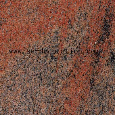 Product name:multicolor red granite