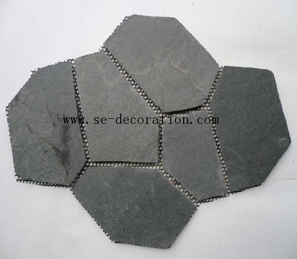 Product name:black slate mesh