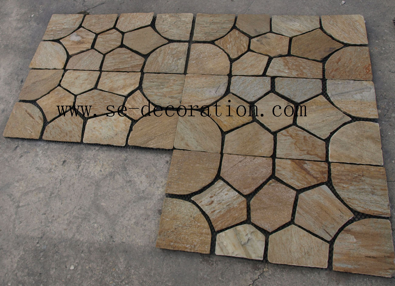 Product name:yellow slate mesh 2