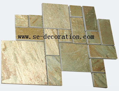 Product name:yellow slate pattern 1
