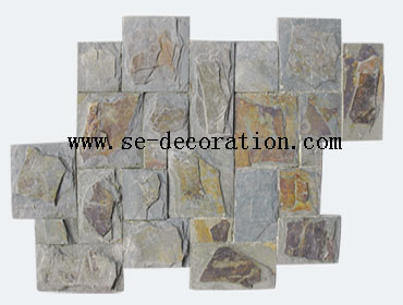 Product name:green rust slate pattern
