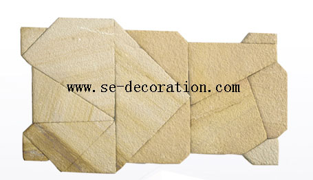 Product name:yellow sandstone pattern