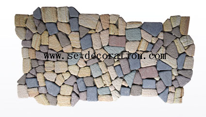 Product name:colorful sandstone pattern