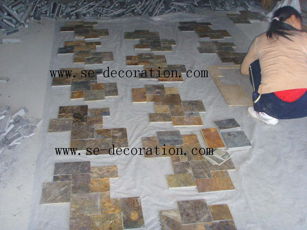 Product name:rust slate pattern 2