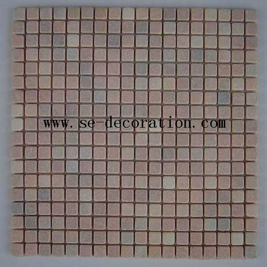 Product name:pink marble mosaic