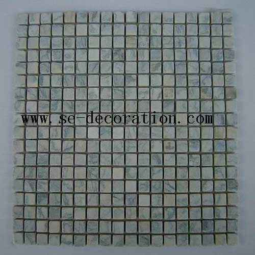 Product name:lotus green marble mosaic
