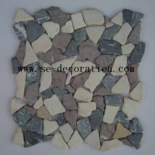 Product name:colorful marble mosaic