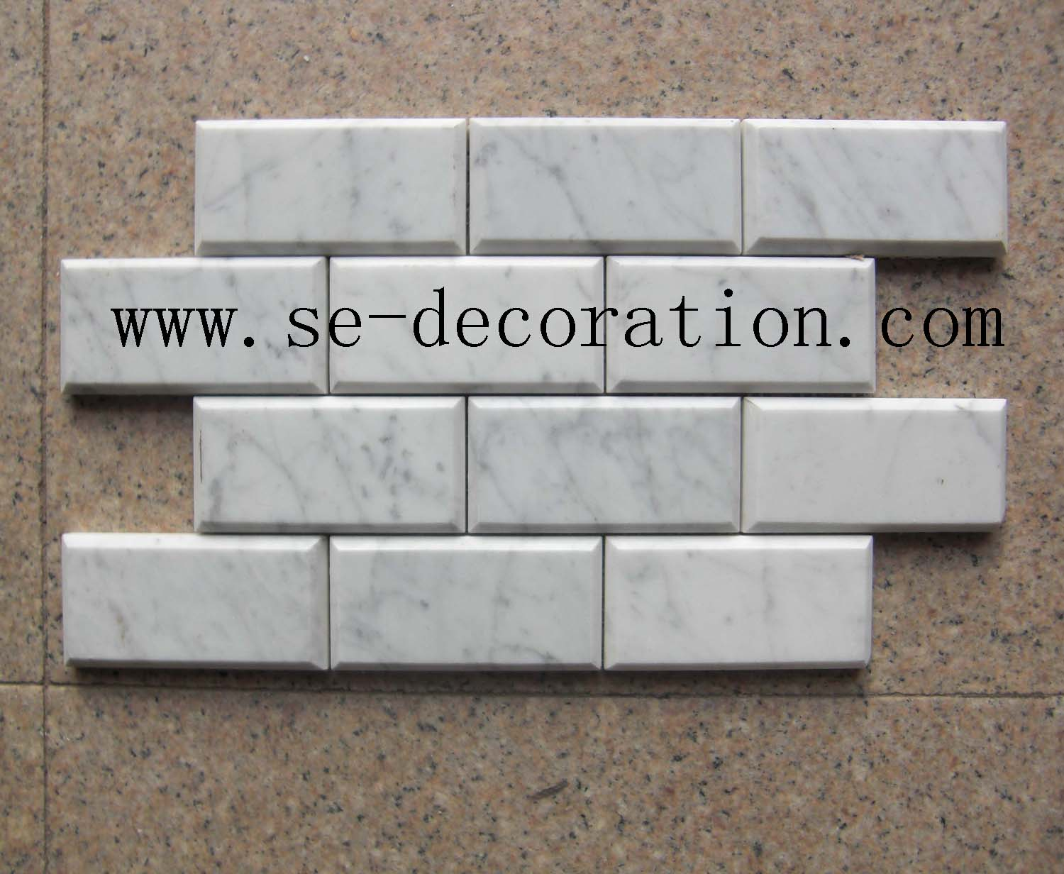 Product name:bianco carrara marble mosaic 4