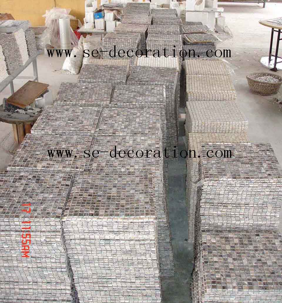 Product name:brown marble mosaic 2