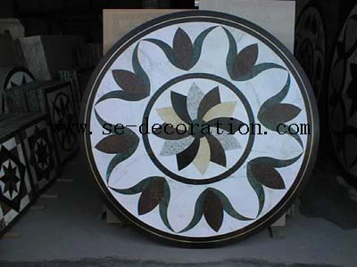 Product name:marble medallion 4