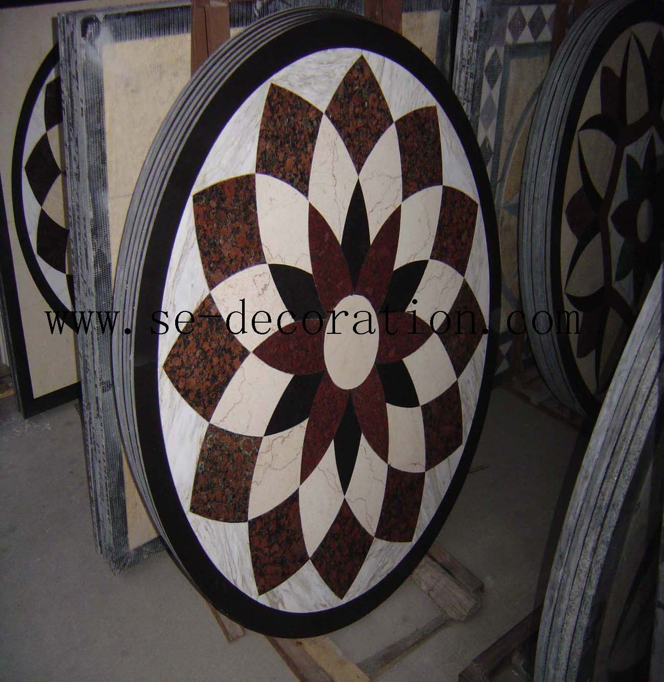 Product name:marble medallion 12