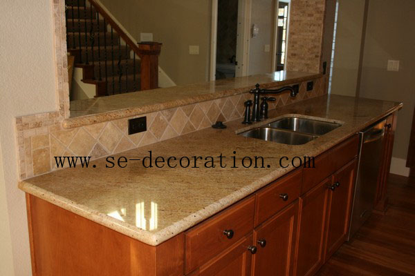 Product name:madura gold granite kitchen countertop 1
