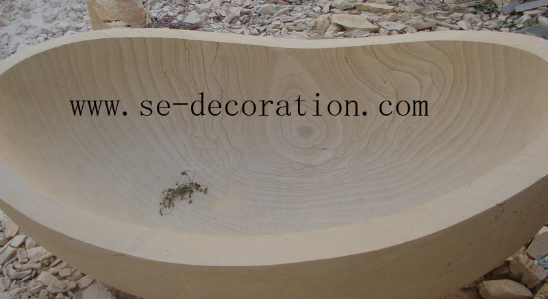 Product name:sandstone bathtub