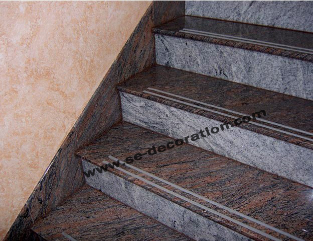 Product name:multicolour red stairs