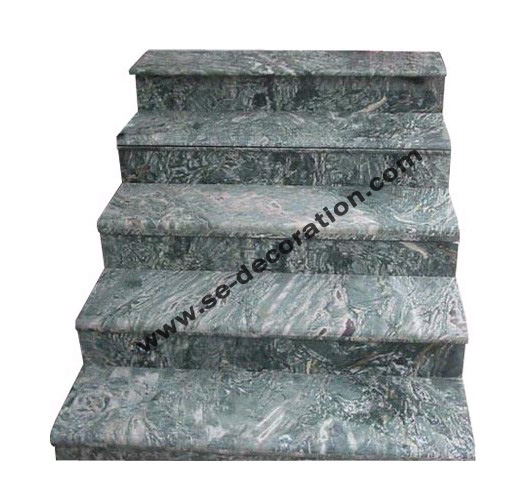 Product name:green marble stairs