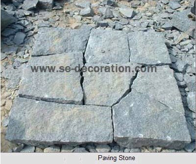 Product name:black paving stone