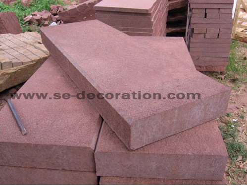 Product name:red paving stone