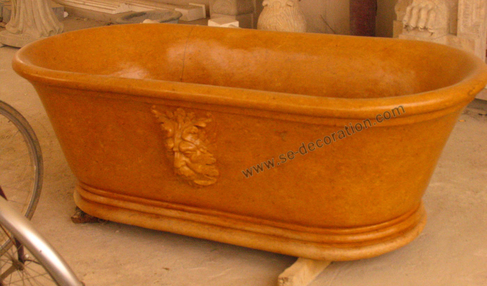 Product name:orange marble bathtub 2