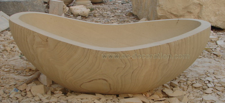 Product name:sandstone bathtub 2