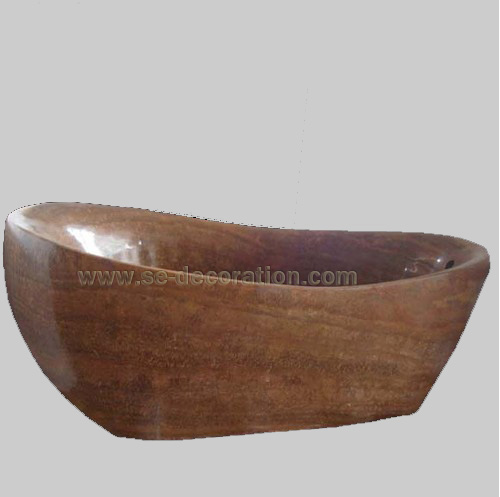 Product name:brown marble bathtub