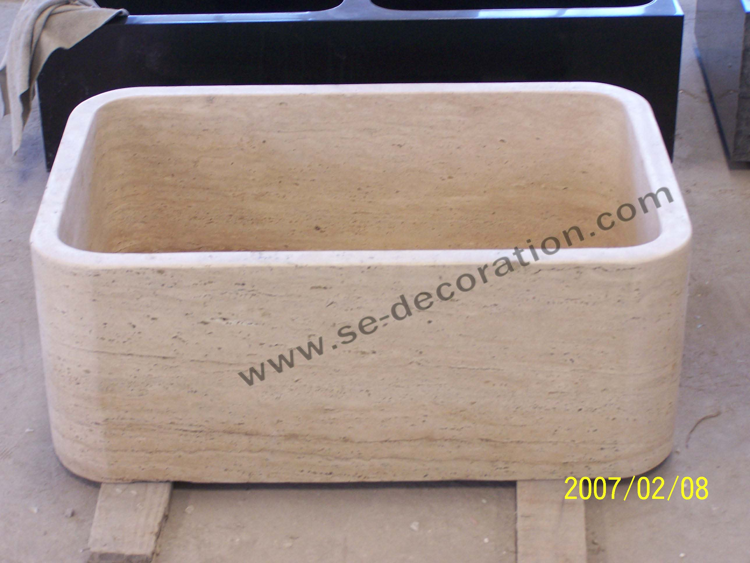 Product name:travertine sink