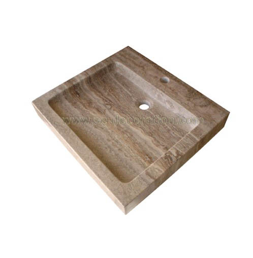 Product name:beige travertine sink