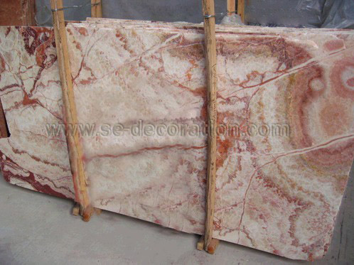 Product name:pink onyx slab