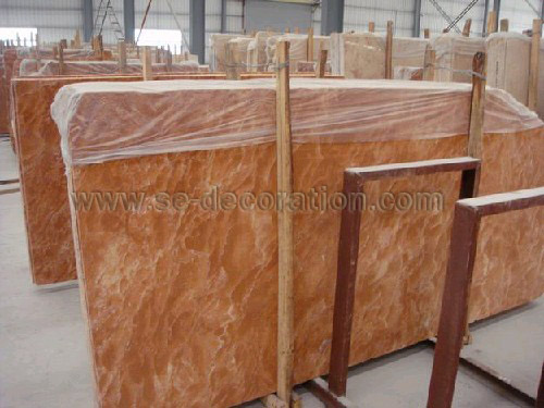 Product name:orange red marble slab