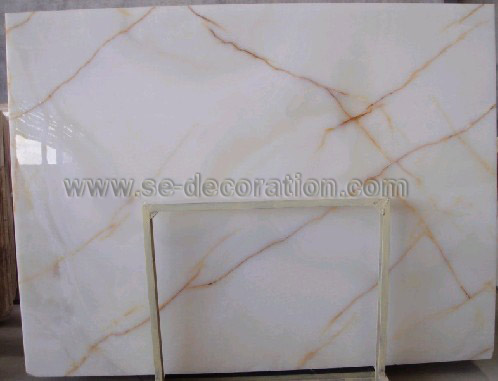 Product name:red line white marble