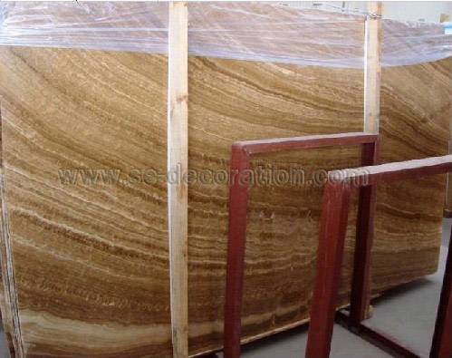 Product name:wood yellow marble slab