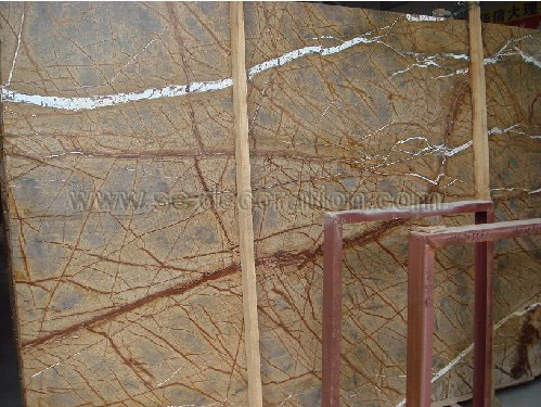 Product name:rainforest brown marble honed