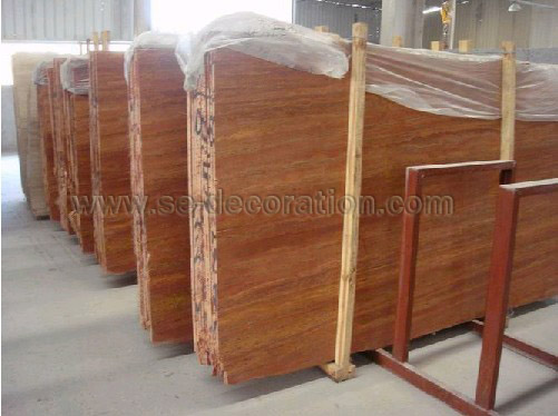 Product name:red travertine slab
